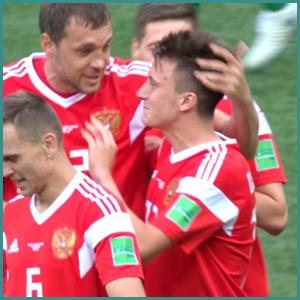 サッカーロシア代表