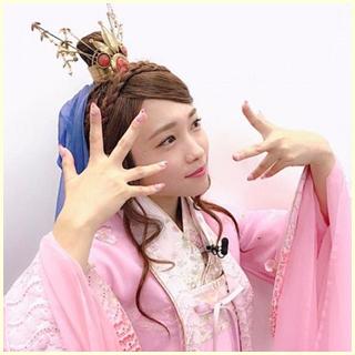 川栄李奈 織姫役