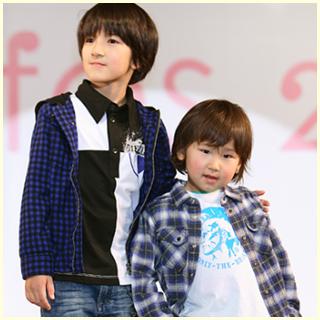 紗栄子の長男と次男